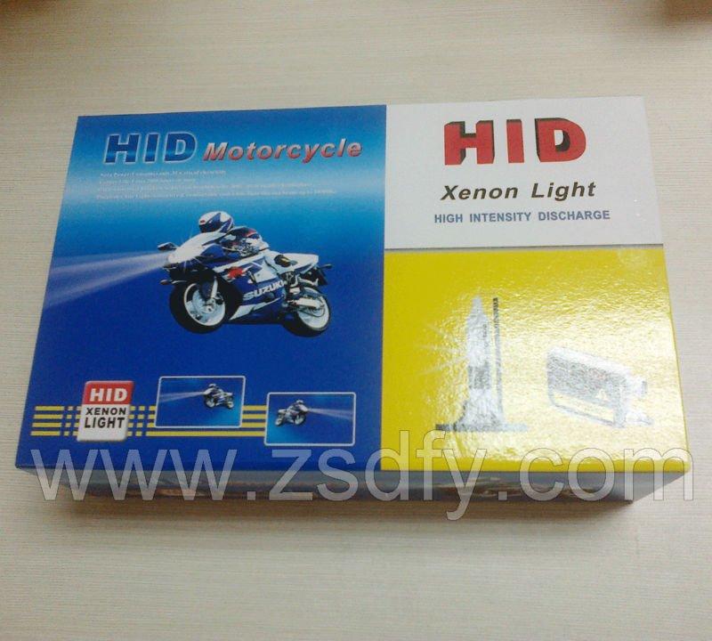 7Years Manufacturer HID Moto 35W H6 Slim Ballast Kit 4300-12000K