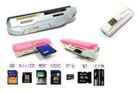 Кардридер USB 1 SDHC MS 2 TF SD 01
