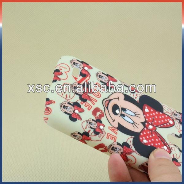 Cute Mickey Cartoon Protective Cover Cases For Samsung S4 mini i9190