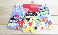 Нижнее белье для мальчиков 12pcs=lot boy`s panties, 100% cotton children underwear, children panties, size can be choose, K6401