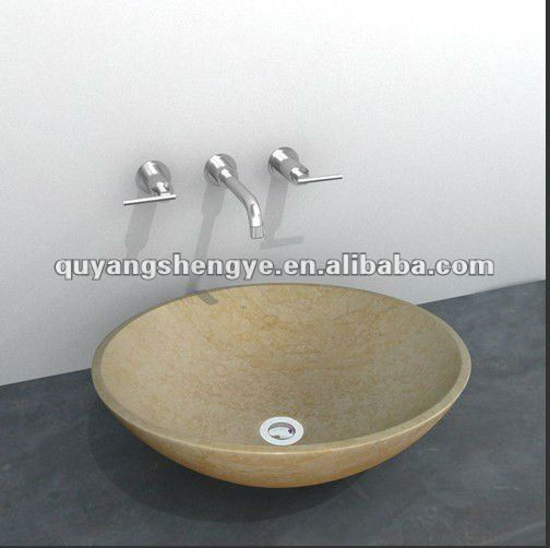 Stone marble dinning room wash basin buy dining room for Glass wash basin designs dining room
