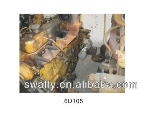 KOMATSU 6D105 original engine assy , 6D105 complete engine