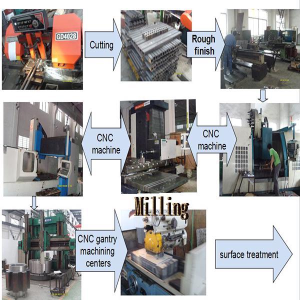 OEM precision esab welding spare parts