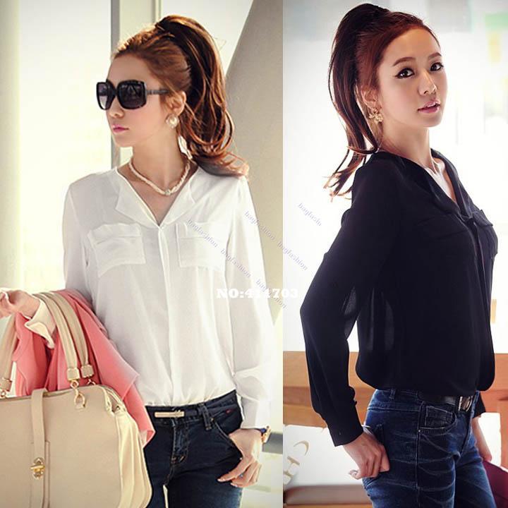 Модные Длинные Блузки