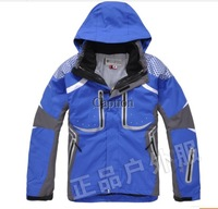 Outdoor twinset ladies man charge clothing mountaineering wear