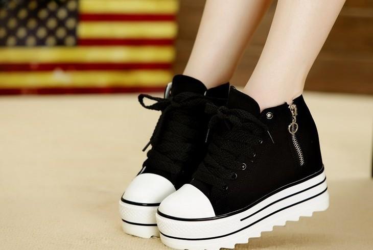 Обувь женская кеды на платформе