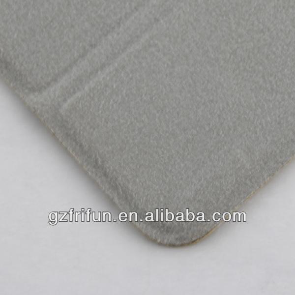 peak green textile fabric beauty luxurious case for ipad mini