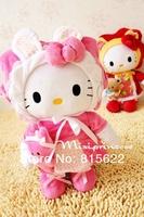 Plush toy hello kitty cat doll kt cat doll cloth doll gift  Plush toys Stuffed & Plush Toys Free shipping