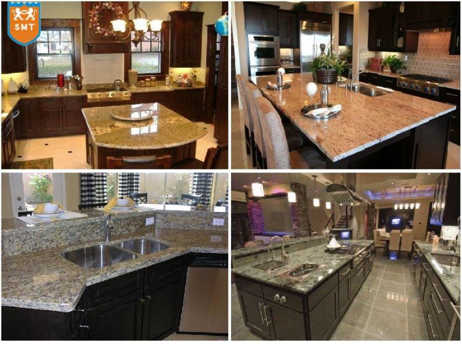 Buy Kitchen Countertops : Brown Granite Kitchen Countertops/work Tops - Buy Kitchen Countertops ...