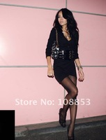 2012 New Cotton Women Lady's Long Sleeve Dress Fashion Deep V Neck Sexy Slim Mini Dress Night Club Sheath Dresses