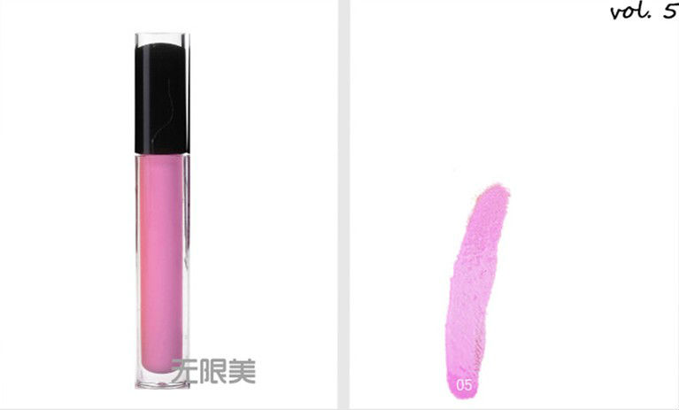 Various color lipgloss hot sell lip makeup matte lipstick