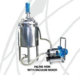 ciculation inline with stirrer inside tank