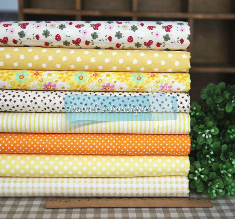 Кусочки ткани для шитья