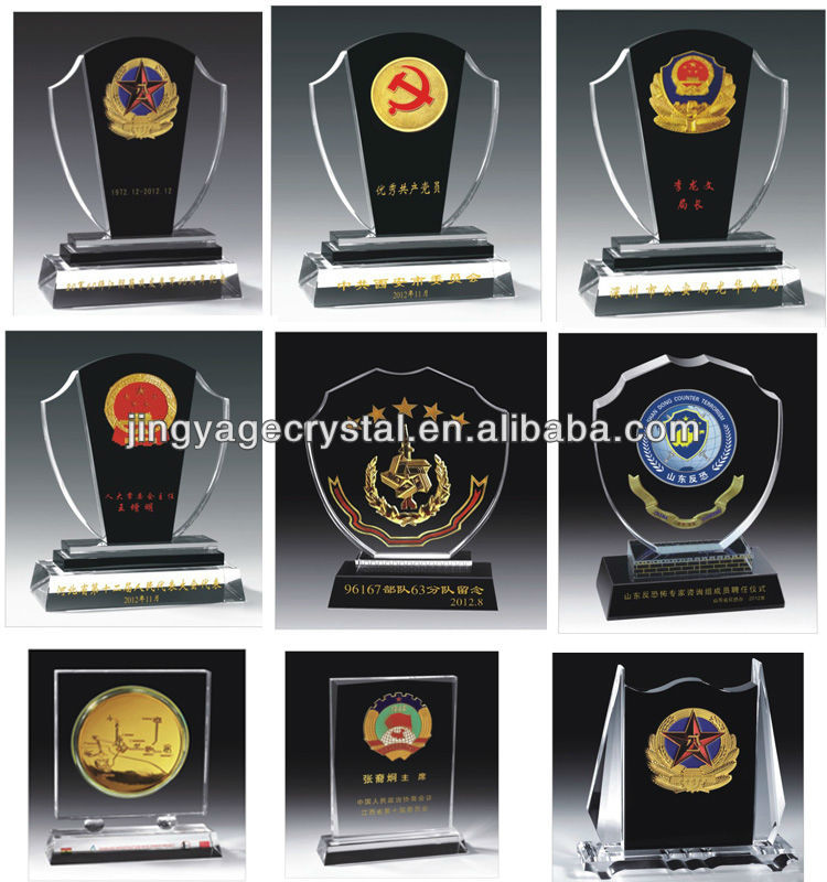 personalized supply crystal star trophy