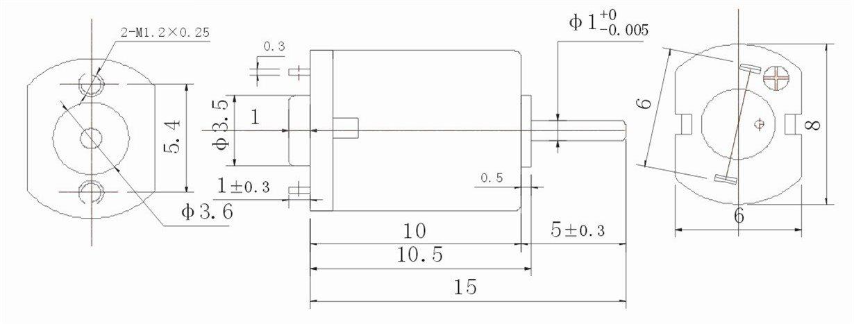 DZ-K10 3V micro electric Motor for Camera
