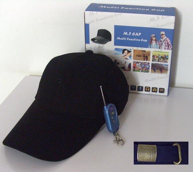 Baseball Cap,Hat,Mini DV,DVR Cap,Camcorder Video Recorder,Hidden Camera,MP3 Bluetooth Function(Option)