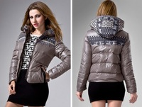 Потребительские товары Hongkong! 2013 autumn and winter thin thickening collar cultivate one's morality short down jacket! BJ-981173