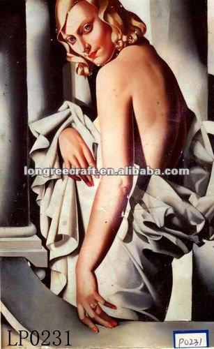 Mulheres Nuas Pintura A Leo Abstrata E Caligrafia Id Do