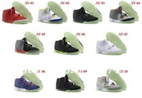 Free Shipping New arrival 10 colors! Famous Trainers Air Yeezy 2 Rerto Men's Basketball Shoes Fashion shoes,Trend shoes