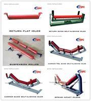 Запчасти для подъемно-транспортного оборудования Belt Conveyor Plastic carrier idler roller