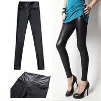 Женские брюки 2012 Autumn and Winter fashion faux denim Legging long johns WOMAN, over$15, kc