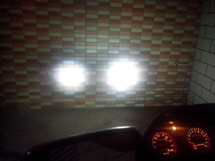 автомобиль мотоцикл кри 30Вт led дневные лампа дневного света 12v-80v строб флэш-угол глаз вспомогательных фар парковка обратного резервного копирования туман
