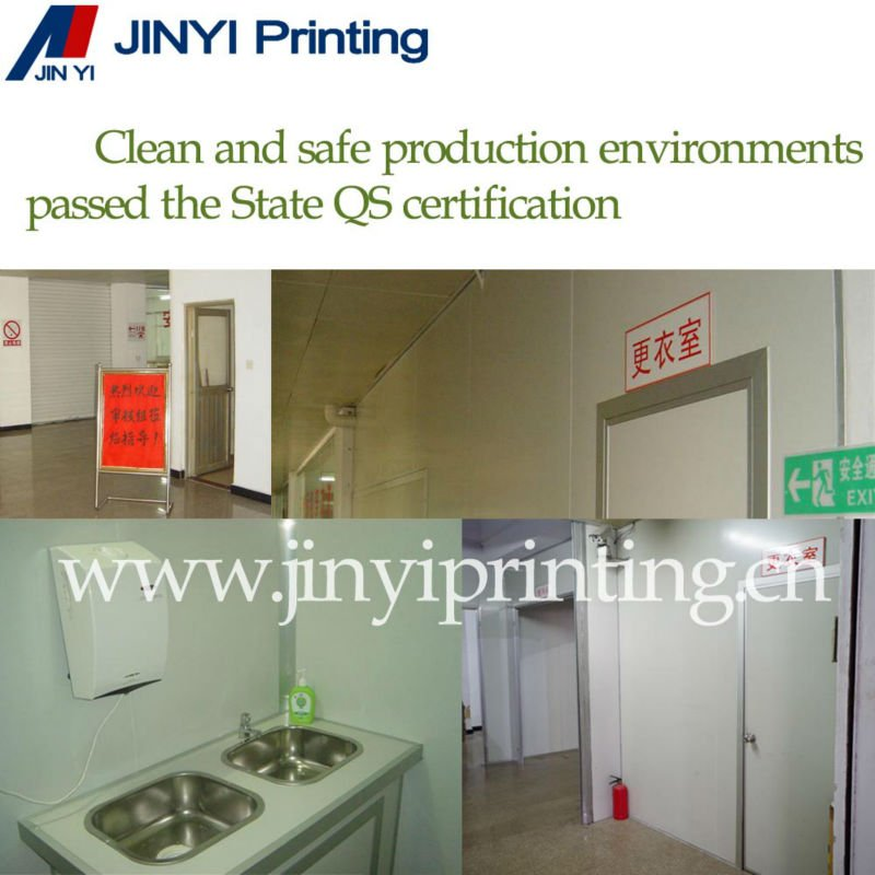 BOPP laminated plastic film for dry food packaging bag