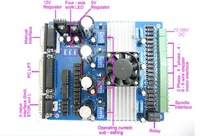 Электрооборудование 4 Axis TB6560 Driver& Nema 23 Stepper Motor CNC kit