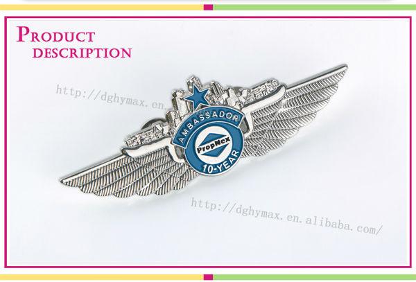 Popular plastic name badge holder