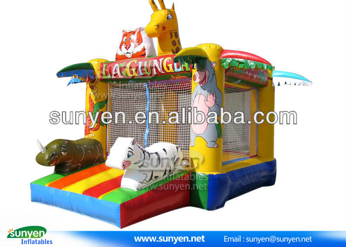 Inflatable Fire Truck Moonwalk with Bouncer