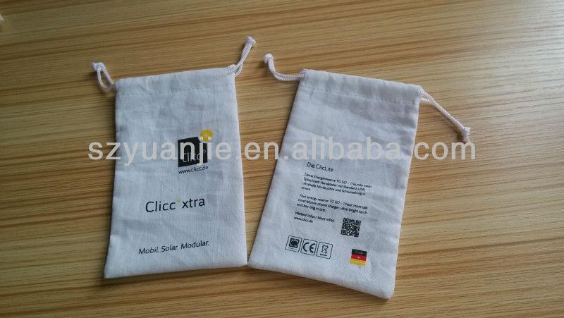 Cotton Muslin mini Drawstring Bags