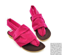 Женские сандалии New Summer Fashion sweet Student Beach Sandals Fashion Seaside Flip-Flops 1Pair