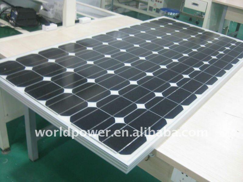 Broken Mono & Poly Solar Cell