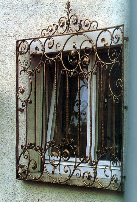 Spanish Style Wrought Iron Window Grills - Architecture Decorating ...