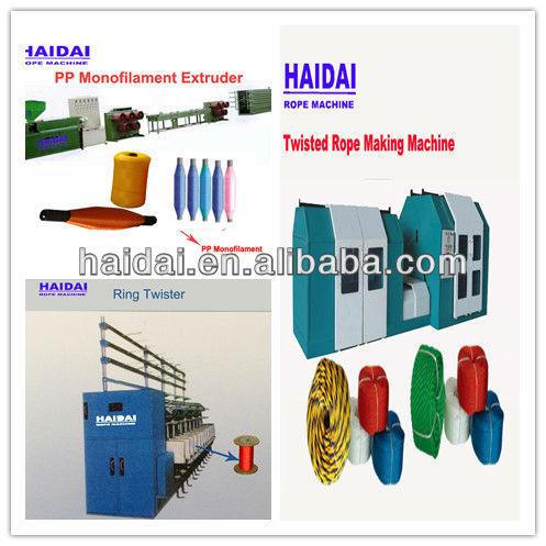 Super quality 4-10mm nylon rope machine