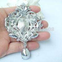 Брошь Helena Crystal Jewelry EE04082C2