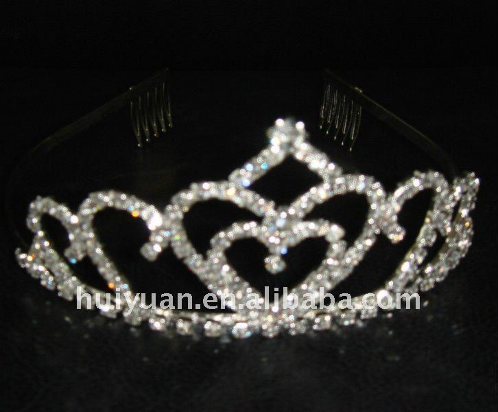 2012 newest styles argent wedding tiaras decoration