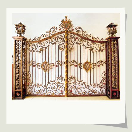 Iron Grill Gate Designs