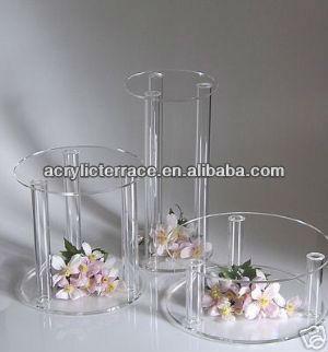 acrylique prsentoir pour cakes y1308201 peut porte 4 birthey gteaux stand de gteau - Presentoire De Gateau De Mariage