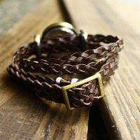 Наручные часы 2014 Russian waches women brand hot sale 4 ring knitted watch women fine items just love glass relogio