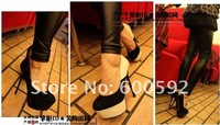 Туфли на высоком каблуке 2012 new styles high heel shoes, platform shoes, Patent Leather shoes with 50% discount shipping fees-GGX0079