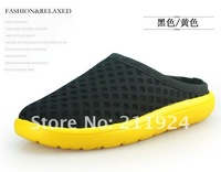 Free CNRAM hot selling unisex relaxation mesh Beach  slippers -1