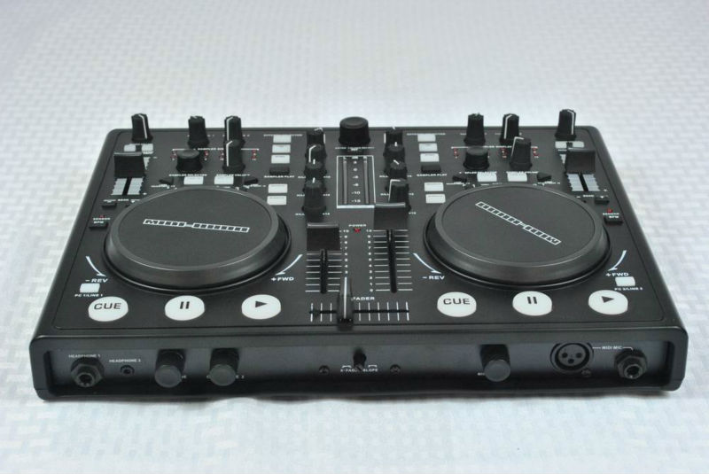 Professional dj midi controller with built-in sound card dj player MIDI-8800