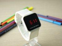Наручные часы 10 Pcs/Lot, 10 Colors Good Quality Fashion Finger Touch Screen Led Watch Nice Digital Watch