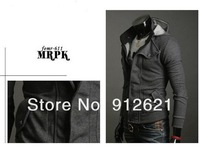 Free Shipping New coats men outwear Mens Special Hoodie Jacket Coat men clothes cardigan style jacket,you worth have it