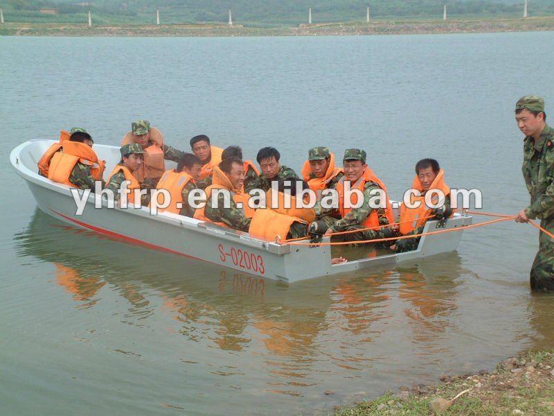 Fibra de vidro canoa venda a partir de 3 metros a 9 metros
