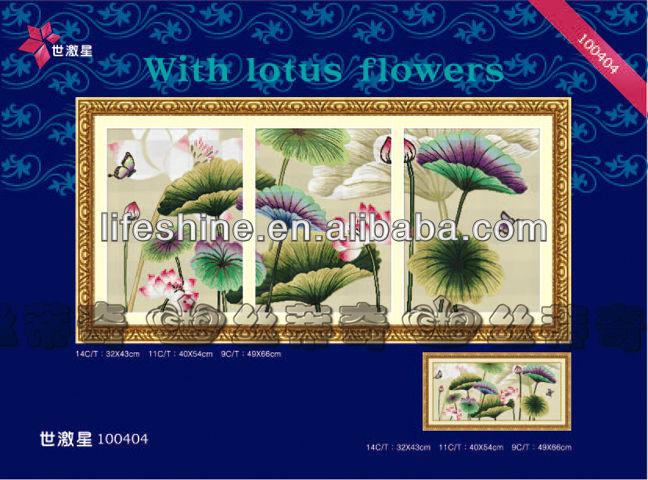 Lotus Cross Stitch Pattern Dmc Cross Stitch Patterns