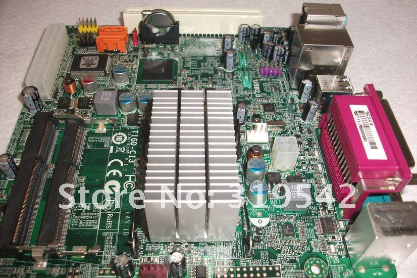 ECS TIGD-CI3(1.0) Intel Atom D525 (1.8GHz, Dual Core) Intel NM10 Mini ITX Motherboard/CPU Combo free shipping
