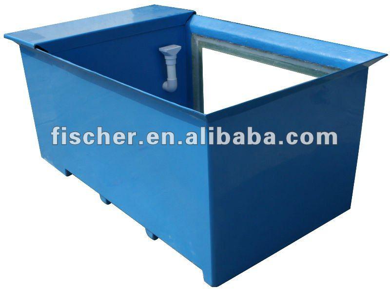 High quality of fibreglass koi tank fpr koi tank view for Koi pond mold