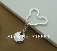 Брелок YR18 Wholsale Fashion Jewelry, High quality silver 925 Key chains, Fashion Silver key rings, Top quality